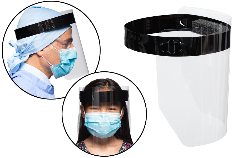 AE-101 Face shield product non-vented