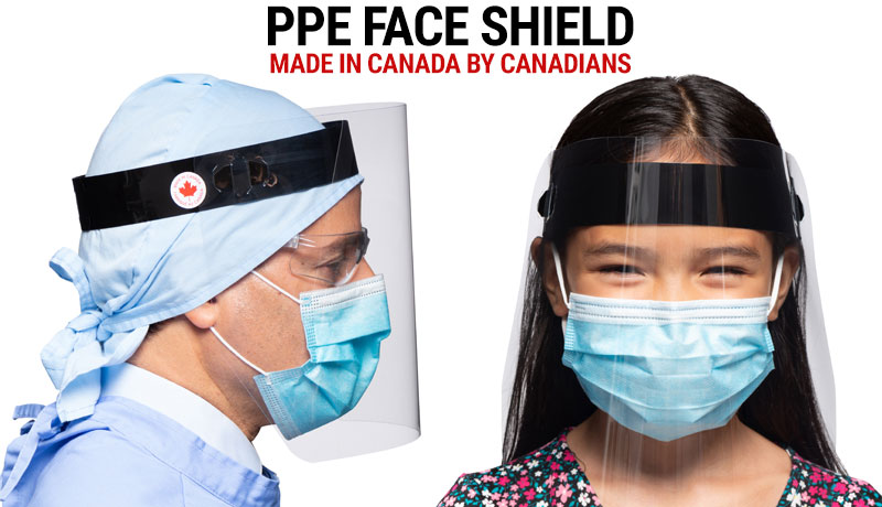 PPE Face Shileds for essential workers